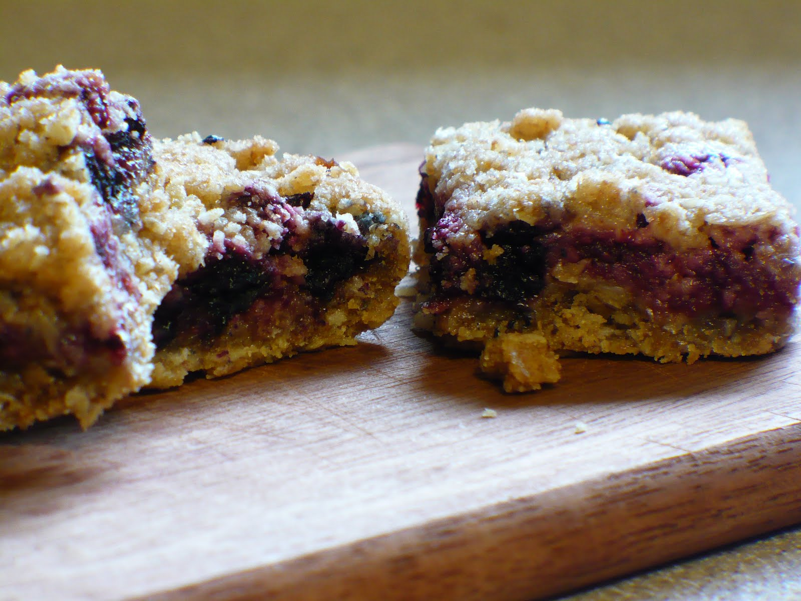 The Tasty Cheapskate: Raspberry Breakfast Bars