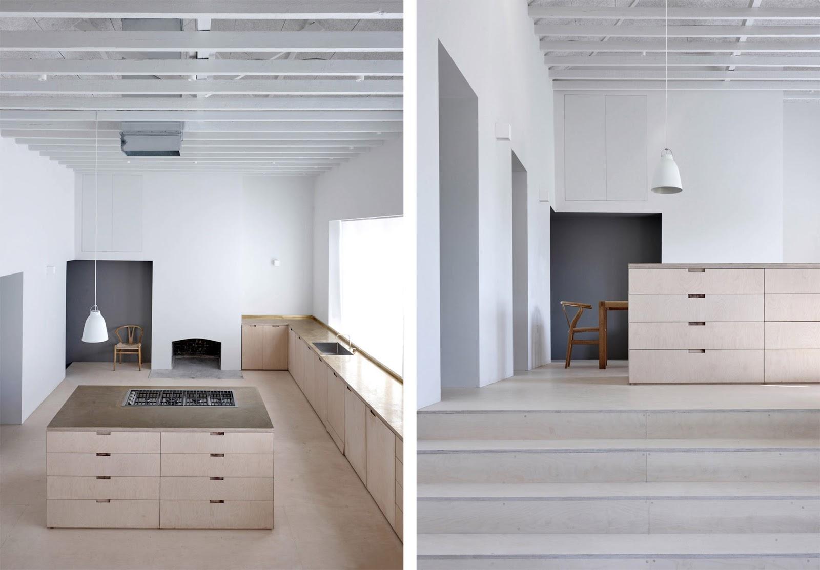 Loft con camera soppalco e cucina su misura by mclaren - Soppalco in camera ...