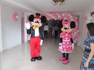 CUMPLEAÑOS INFANTILES DE MICKEY Y MINNIE MOUSE