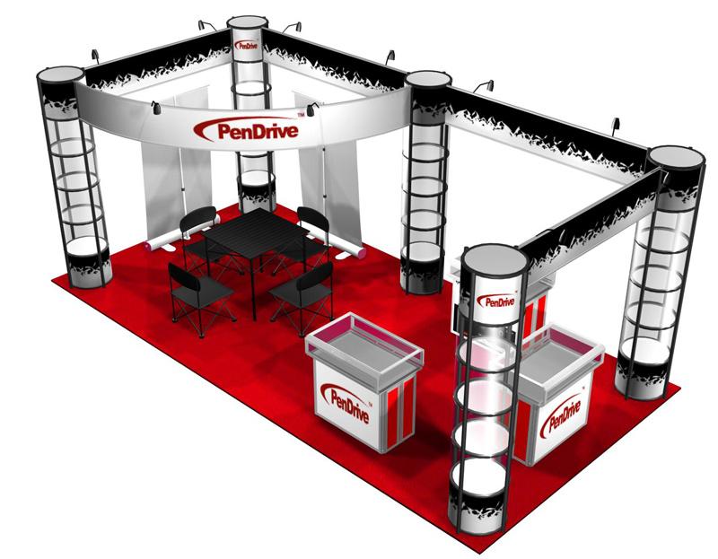 Exhibition Booth Concept : Aem creativemaster exhibition booth