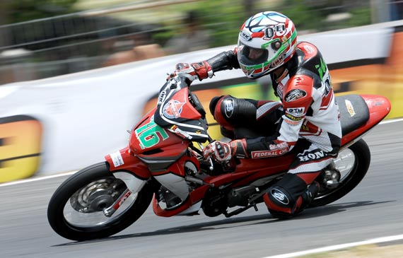 Modifikasi roadrace supra x125 title=