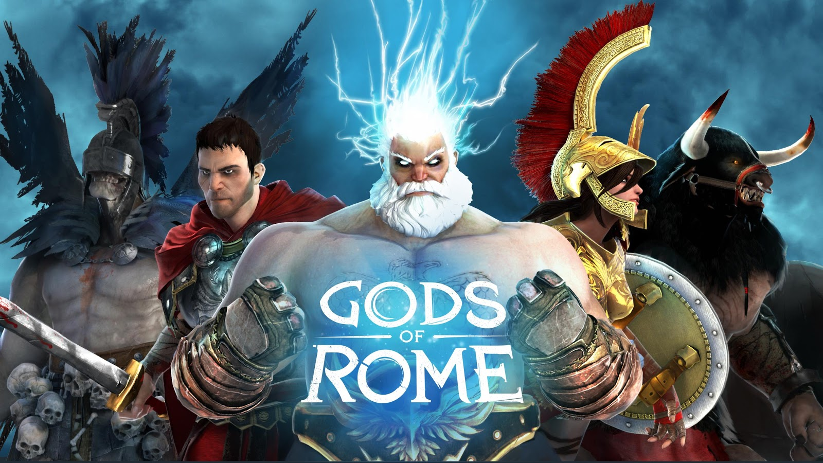gods of rome apk mod money android