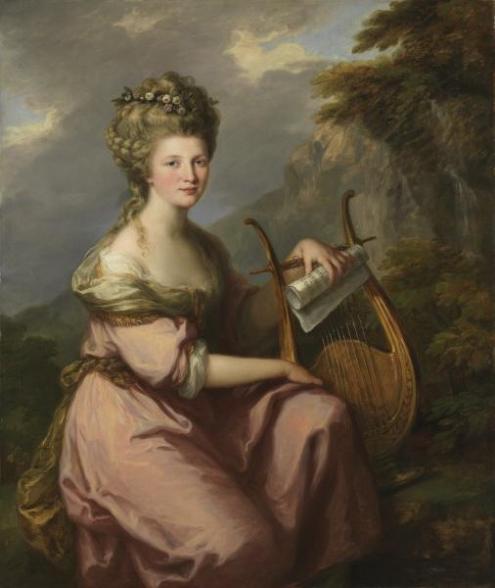 Angelica Kauffmann S Paintings
