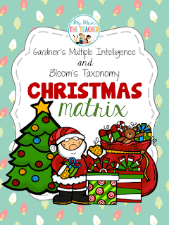 https://www.teacherspayteachers.com/Product/Christmas-Matrix-Multiple-Intelligence-Blooms-Taxonomy-221796