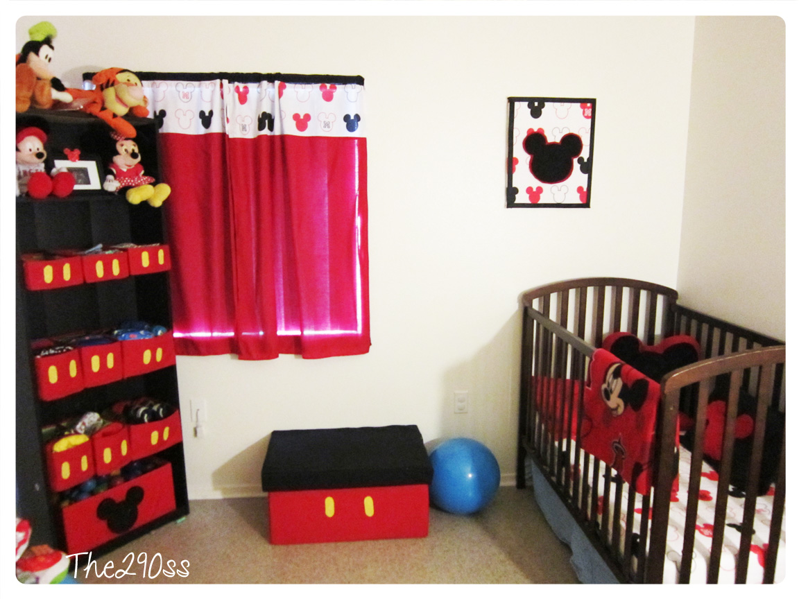 Mickey Mouse Bedroom Decorations The290ss Mickey Mouse Inspired Room Decoration