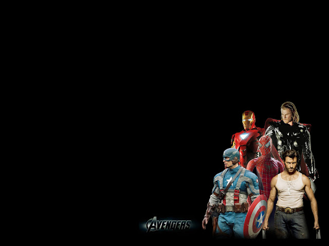 free download avengers powerpoint background