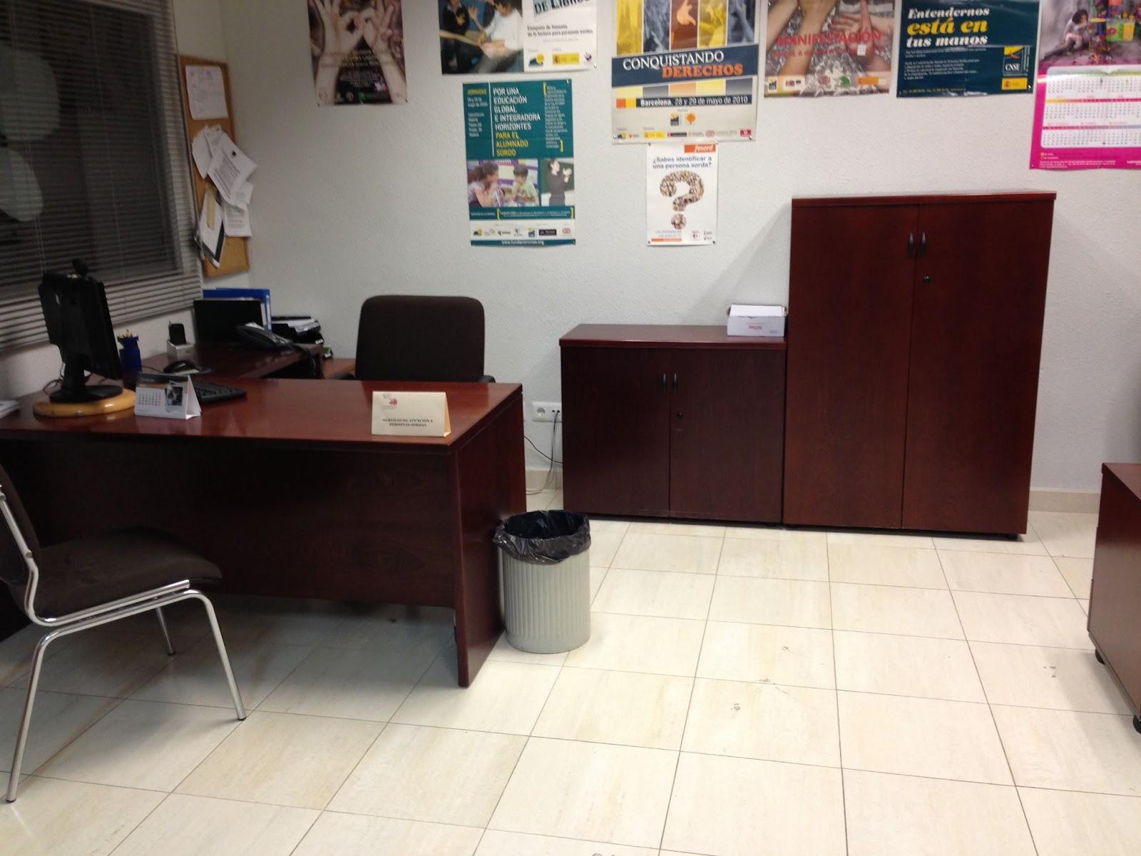 Asociacion personas sordas de castellon donaci n de - Mobiliario oficina castellon ...