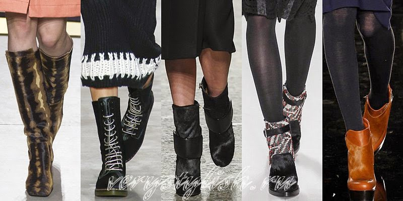 Winter 2015 Women's Boots Fashion Trends