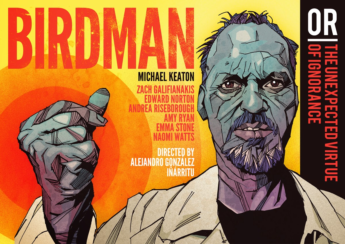 Birdman film artwork new