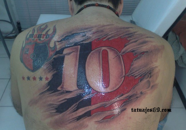 Tatuajes futboleros