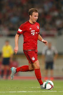 Mario Götze 2015