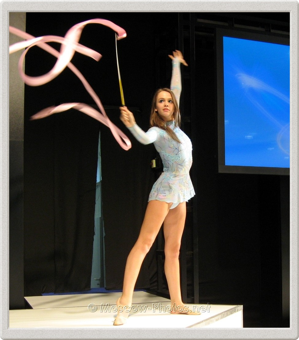 Rhythmic Gymnast at Photoforum - 2008