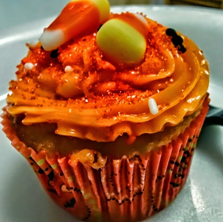 Halloween cupcake food blog
