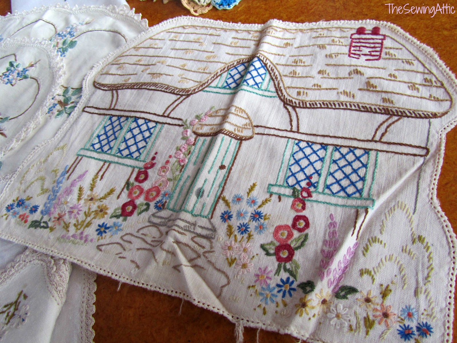 The Sewing Attic Vintage Embroidery Inheritance