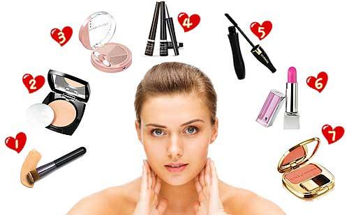 El orden correcto para maquillarte rápido y fácil