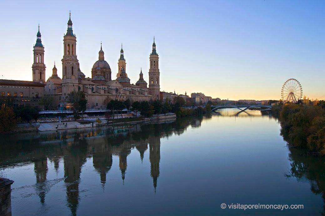 Ebro Zaragoza rio