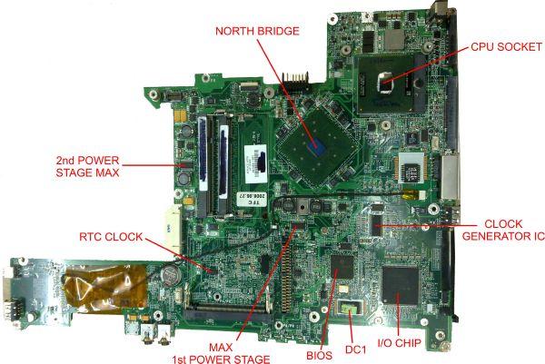 Laptop Repair Tips Clock Generator Section Circuit