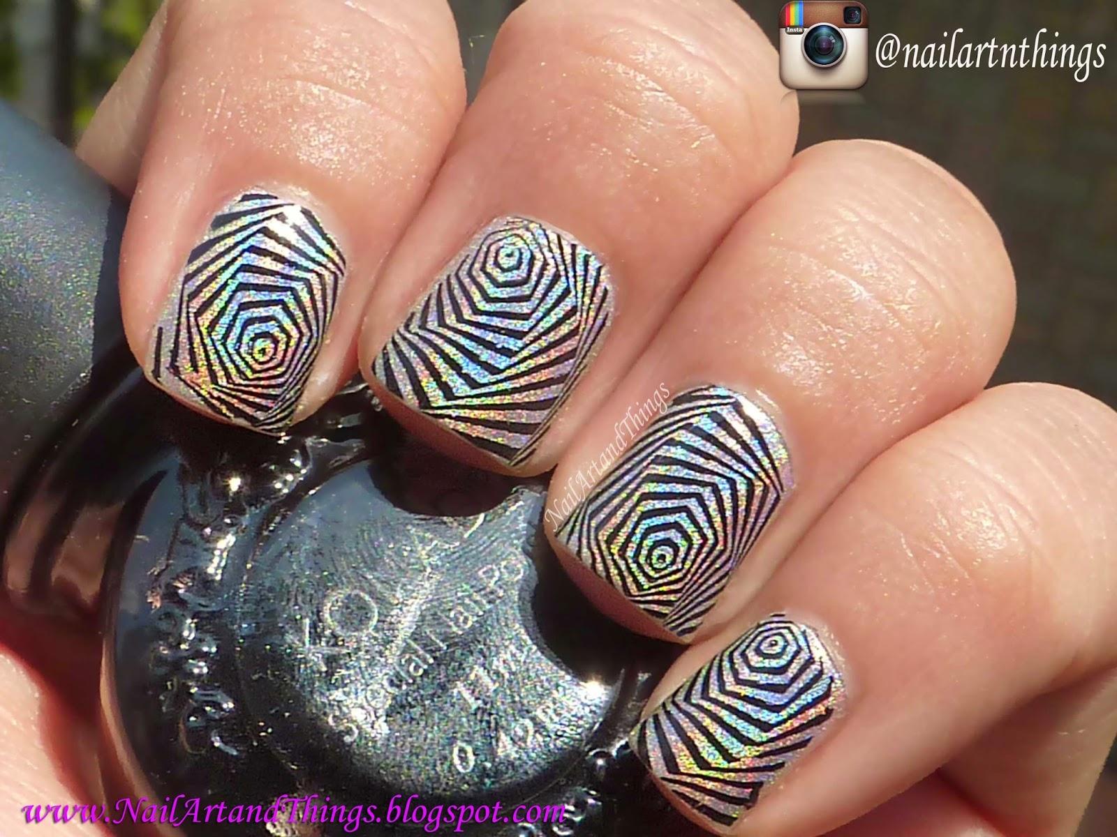 NailArt and Things: Dazzling Nail Art