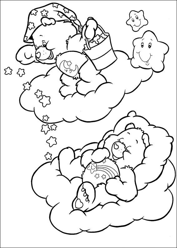 the care bears coloring pages - photo#15