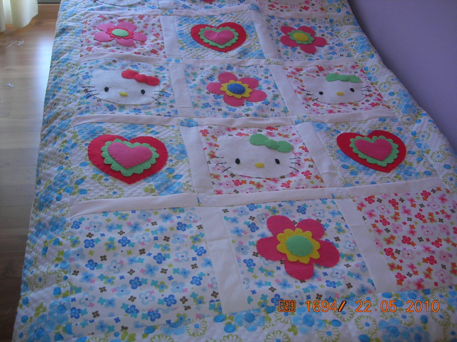 mantas patchwork de mari