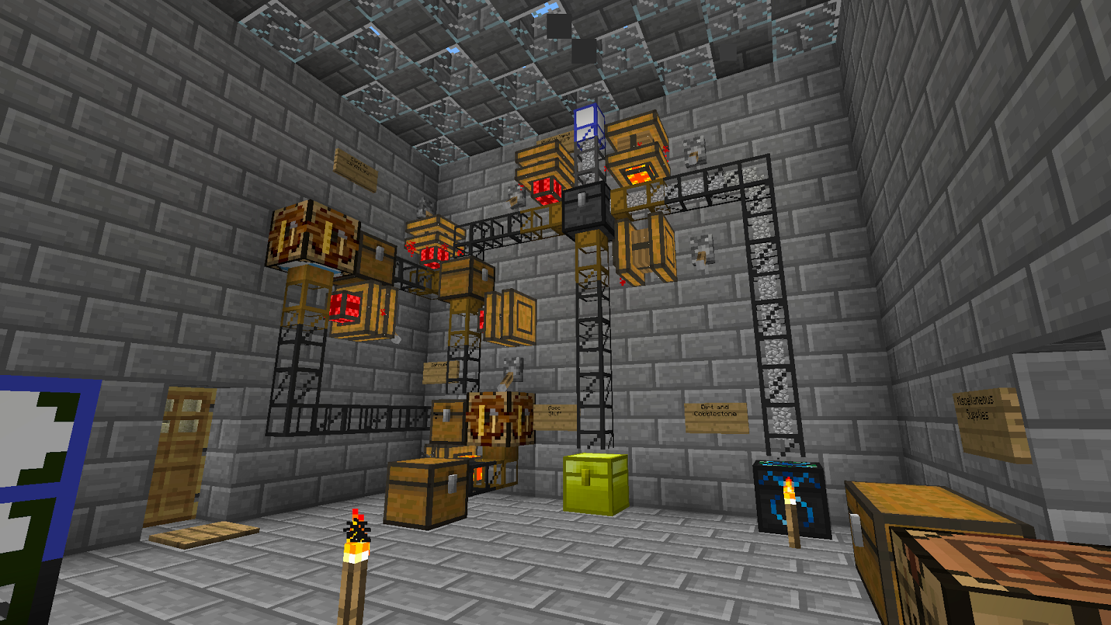 Minecraft: Tekkit Instructables; Oil Refineries.