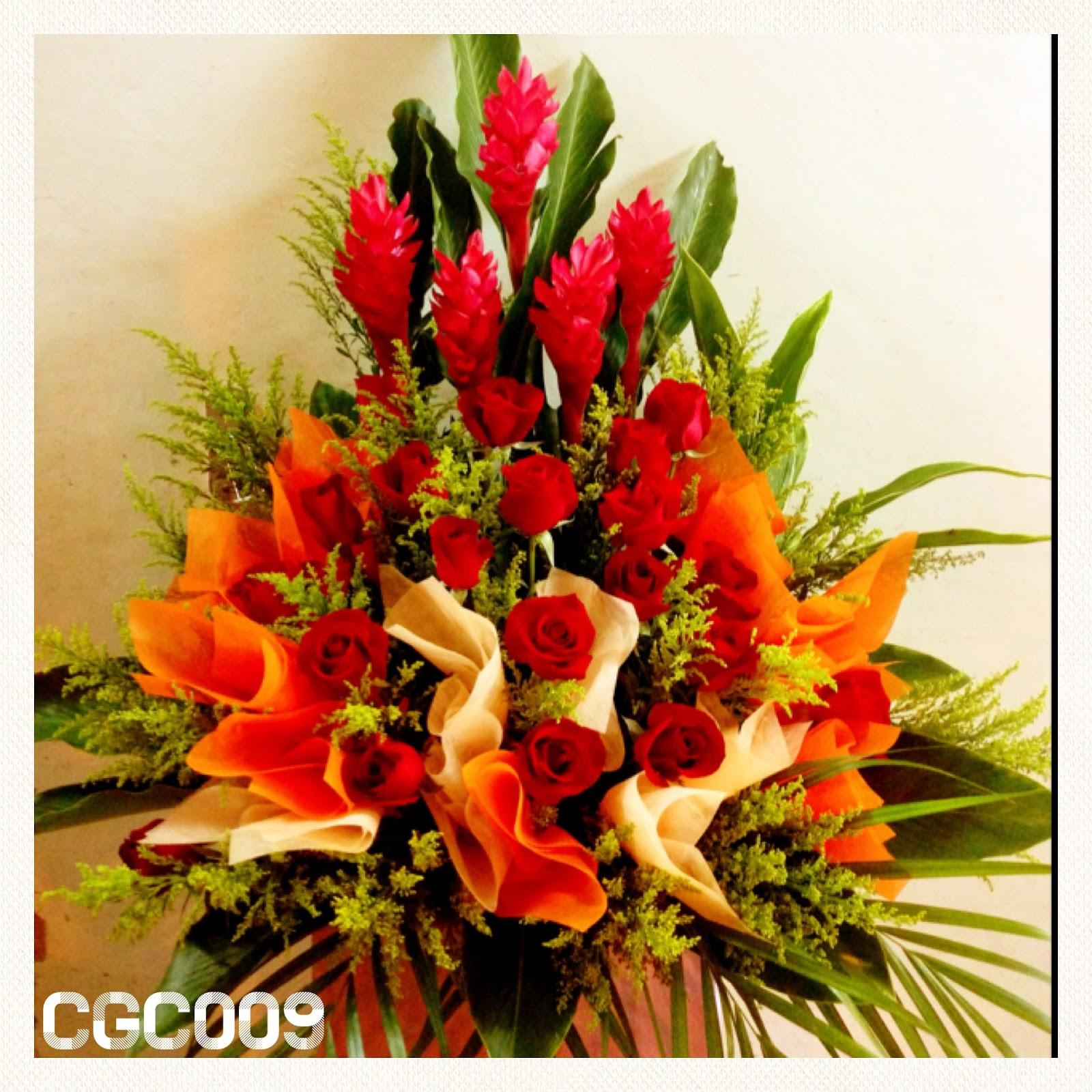 Flower basket for grand opening : Bedok flower s grand opening flowers