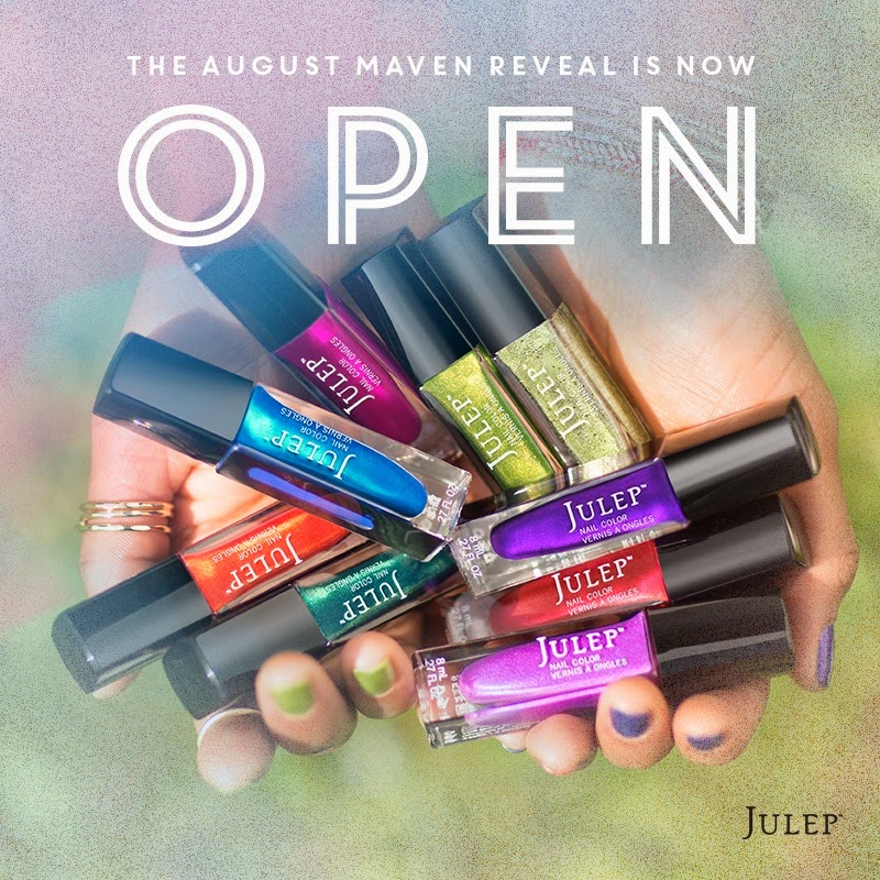 Julep Wanderlust Collection August 2014