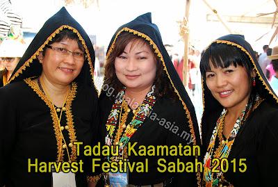 Tadau Kaamatan Harvest Festival Sabah 2015