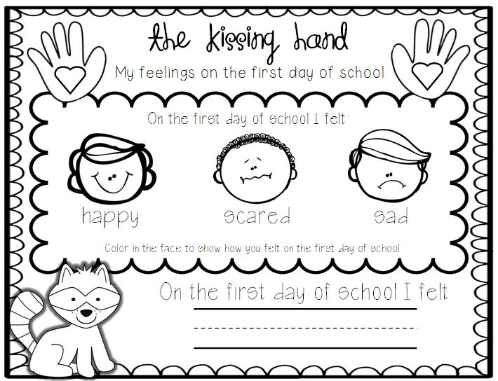 This is a picture of Amazing Kissing Hand Printable