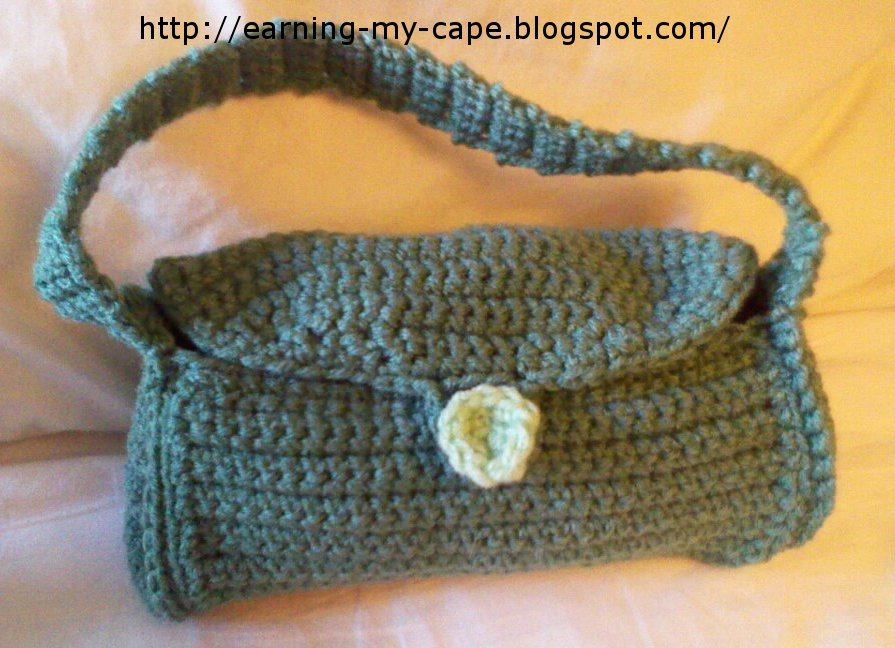 Download Crochet Patterns, Little Dollie Purse Crochet Pattern