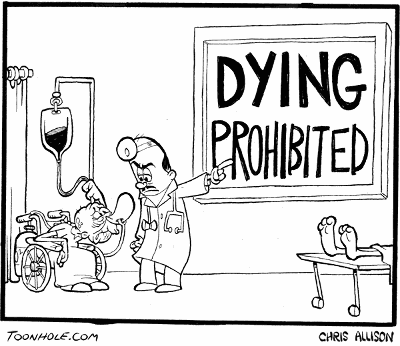 Dying Prohibited -- En stærkt paternalistisk læge