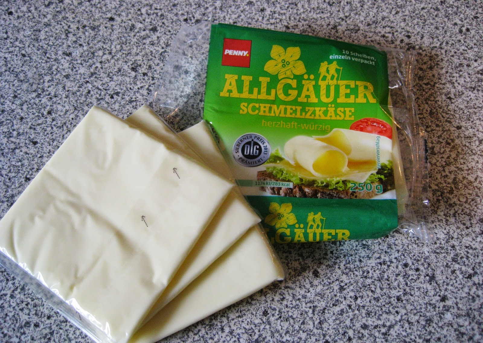 German form of American cheese