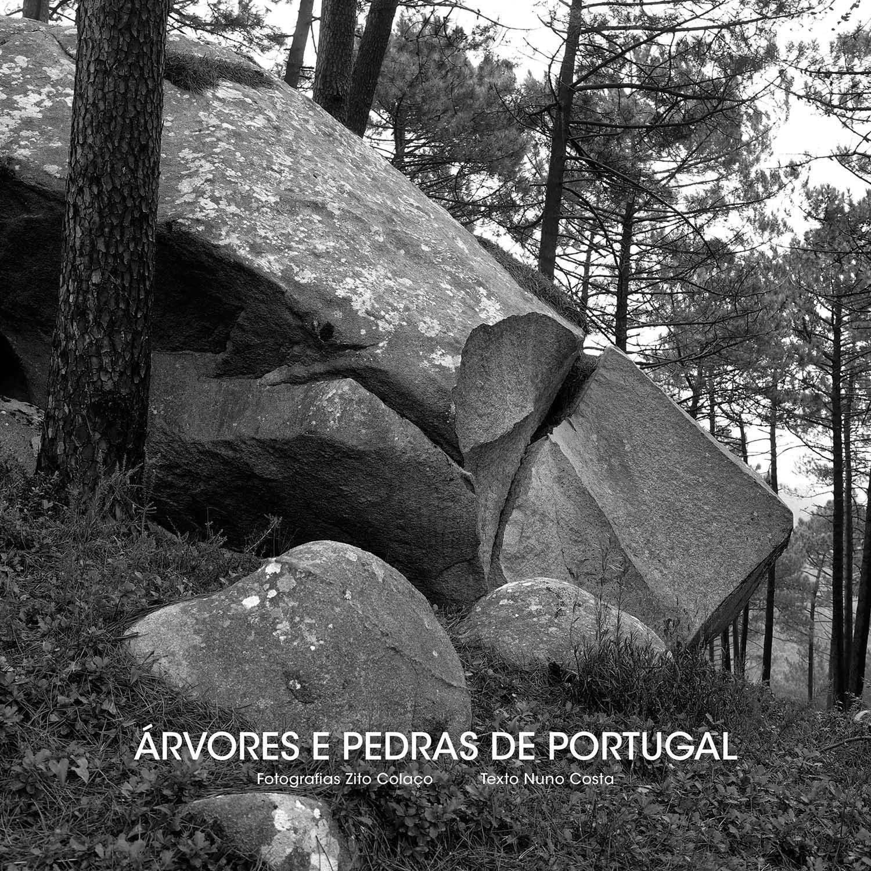 Livro Árvores e Pedras de Portugal