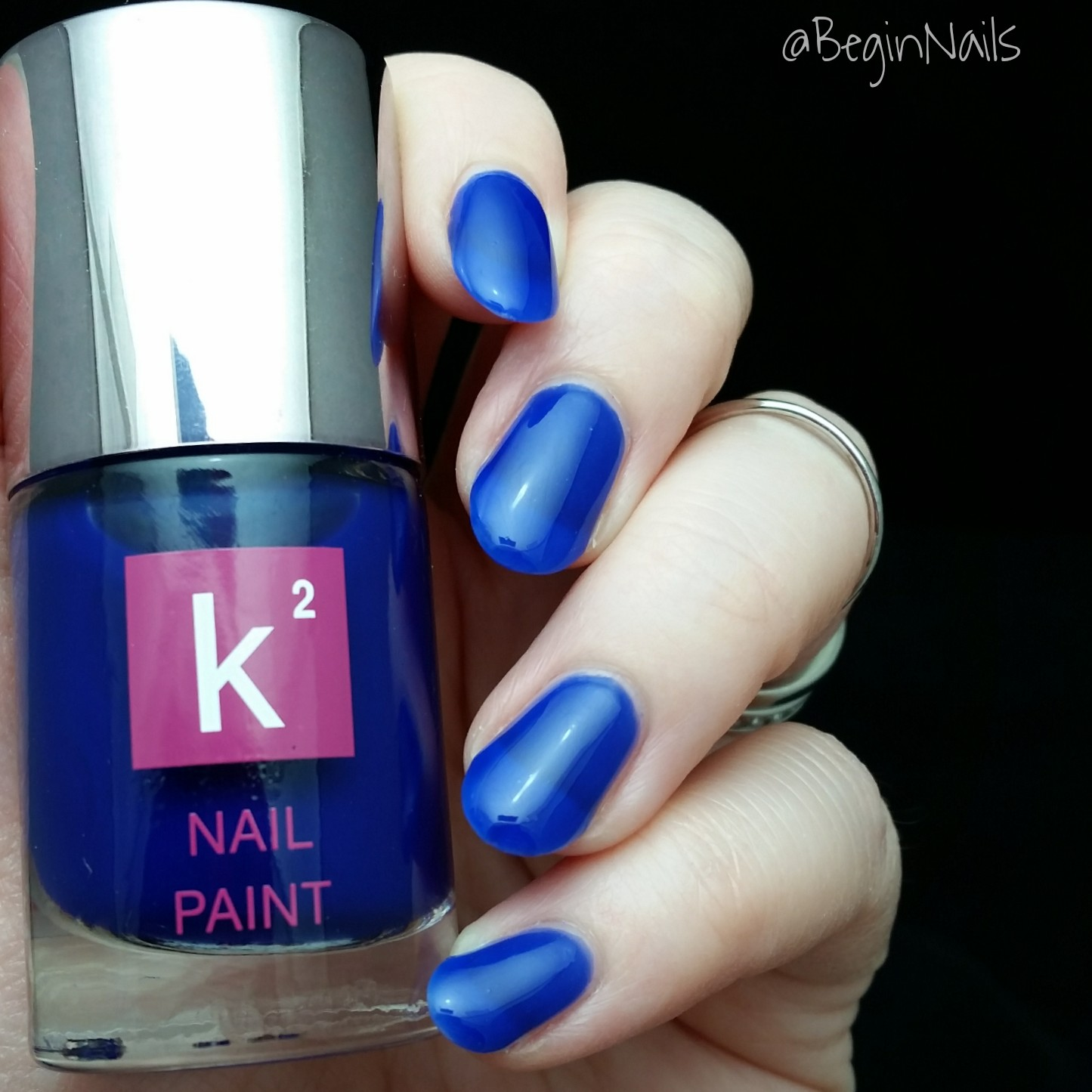 Finger Nail Paint: Let's Begin Nails: K2 Nail Paint Swatch And Review