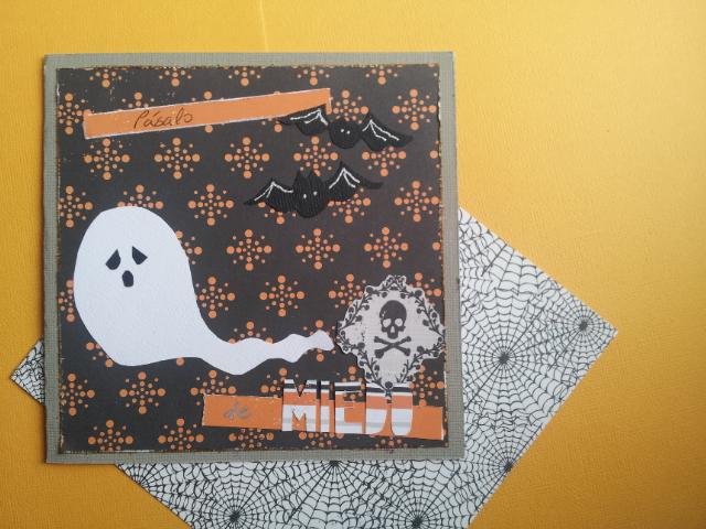 hallooween card