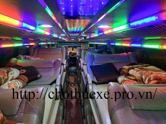 Cho thuê xe giường nằm: xe giường nằm đi Quảng Bình