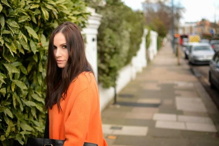 Zara oranger mantel