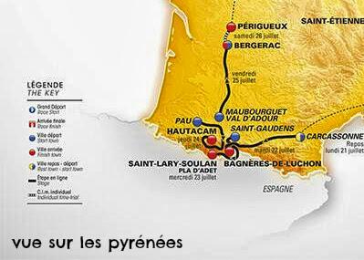 Tour de France 2014 dans les pyrénées