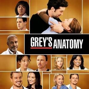 Greys Anatomy - A Anatomia de Grey  5ª Temporada Completa Séries Torrent Download capa