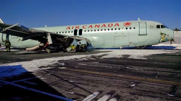 Pesawat Air Canada Lapangan Terbang Antarabangsa Halifax Stanfield