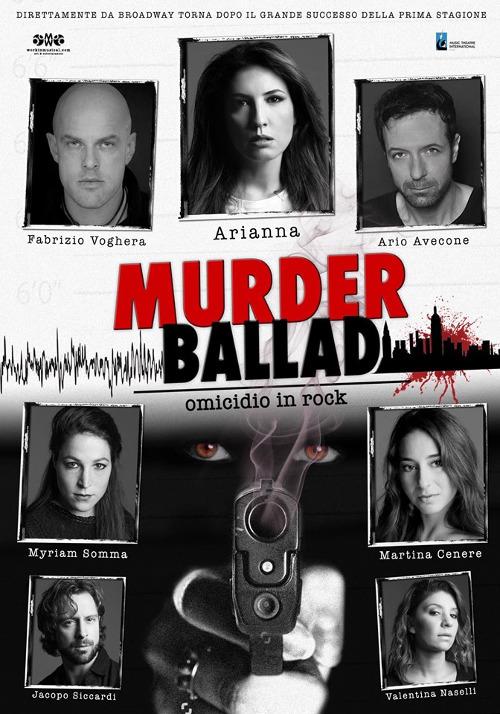 """""""MURDER BALLAD"""" regia di Ario Avecone e Fabrizio Checcacci"""
