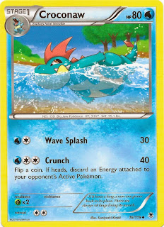 Croconaw Phantom Forces Pokemon Card