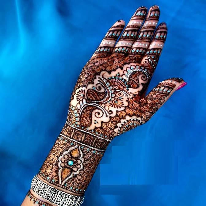 Mehndi Tattoo Images Download : Bridal mehndi designs stylish hand
