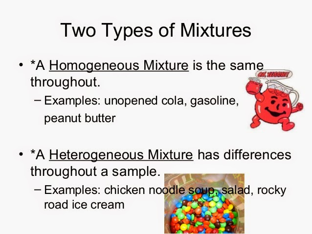 6th Grade Science: 1st Six Weeks (week 5) Pure Substances and Mixtures