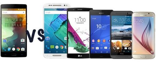 Perbandingan OnePlus 2 vs. Motorola Moto X Style vs. Flagship Smartphones