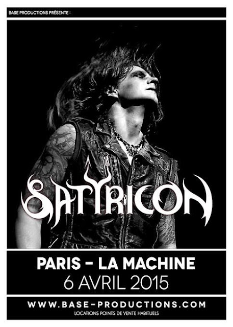 Satyricon @La Machine du Moulin Rouge, Paris 06/04/2015
