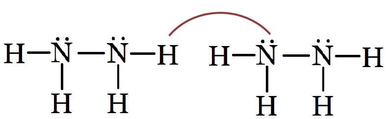 Hydrazine - N2H4 H2cnh2 Lewis Structure