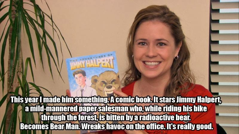 Christmas The Office Meme Pam