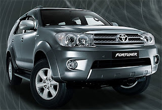 Mobil SUV Toyota Fortuner