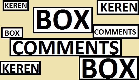 Cara Membuat Kotak Komentar Keren Di Blog